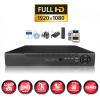 kit videosurveillance professionnel 1 camera ahd exterieures domes infrarouge 20m capteur sony 1080p enregistreur numerique dvr