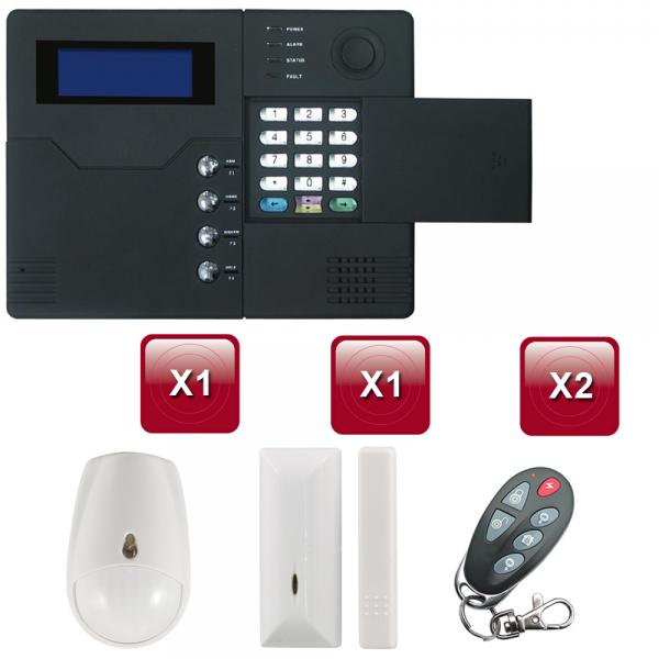 alarme maison sans fil st v gsm