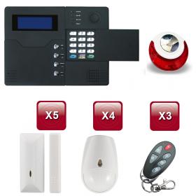 Centrale d'alarme sans Fil GSM - RTC ST-V 3 /4 pièces pack 2