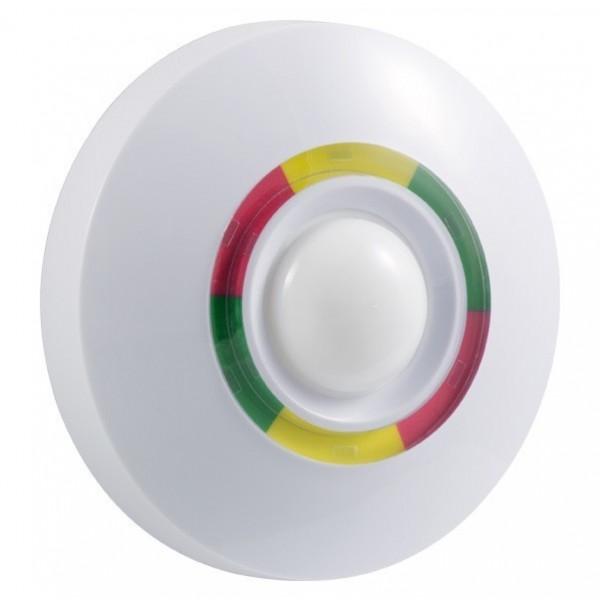 Détecteur de mouvement volumétrique sans fil 360 pour plafond