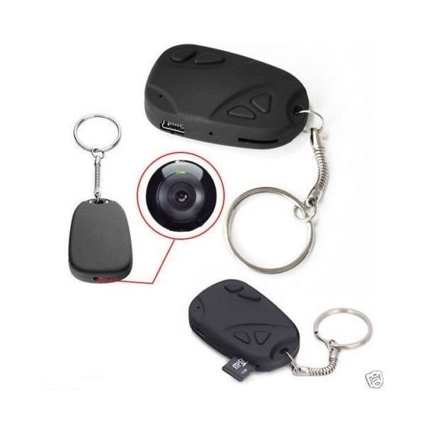 porte clés camera espion avec micro intégré