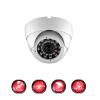 caméra vidéo surveillance professionnel HD 4 Caméras Dômes IR SONY FULL HD 960P Enregistreur DVR AHD disque dur Pack video