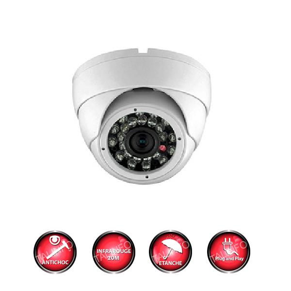 camera de surveillance analogique full hd 1.3 megapixels