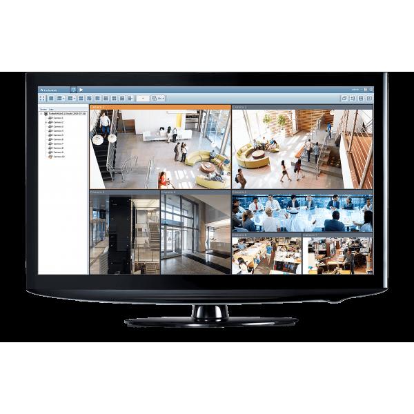 Kit vidéosurveillance 2 caméras IP POE PRO FULL HD 1080P SONY 2.4 MP