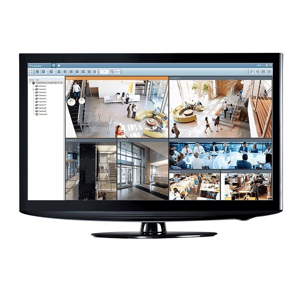 Kit vidéosurveillance 6 caméras dômes motorisées PTZ zoom X3