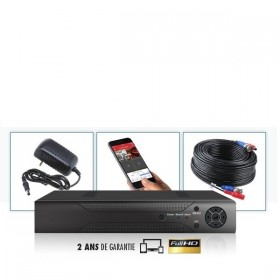 Enregistreur DVR FULL HD 4 voies 960H