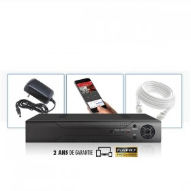 Enregistreur NVR IP 8 voies FULL HD 1080P