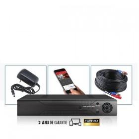 Enregistreur numérique AHD / CVI / TVI / XVI / IP 4 voies