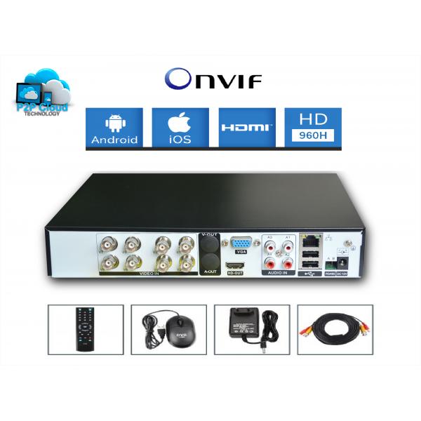 Pack vidéosurveillance 8 caméras FULL HD SONY 700 TVL varifocal DVR 960H
