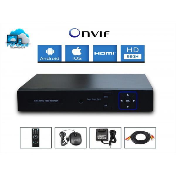 Kit vidéosurveillance 4 caméras HD SONY 700 TVL 960H dvr avant