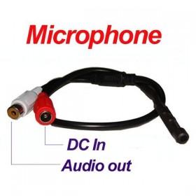 Microphone pour dvr et caméra