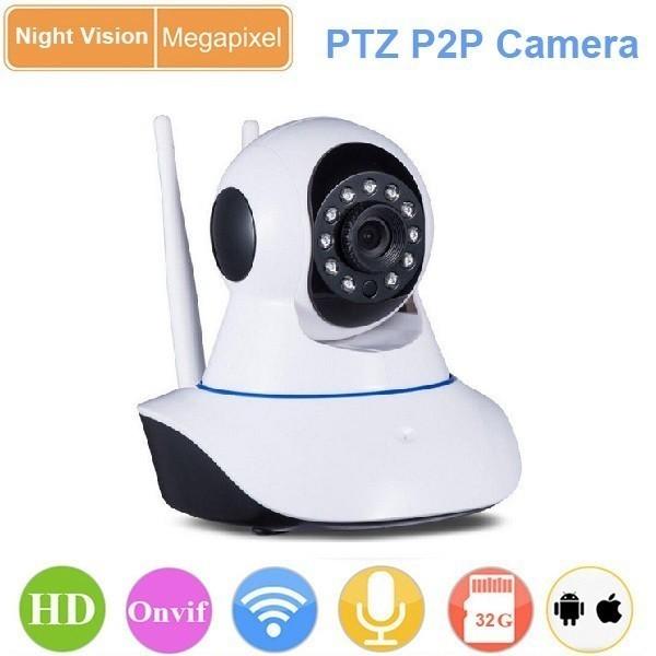 Caméra IP Wifi intérieure motorisée 1.3 Mégapixels