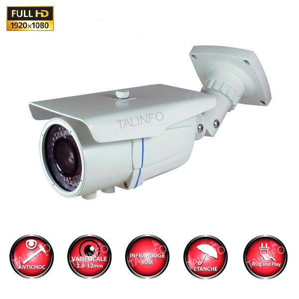 Caméra tube AHD ANTI-VANDAL FULL HD 960P CAPTEUR SONY IMX323 OSD IR 20M ÉTANCHE CAMÉRA DE VIDÉO SURVEILLANCE