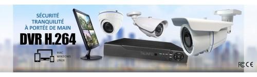 KITS VIDEOSURVEILLANCE CAMERAS FULL AHD SONY 960P 1.3 MP