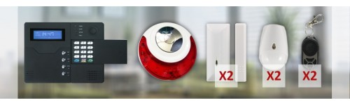 Centrale d'alarme sans fil GSM ST-V 4 / 5 pièces
