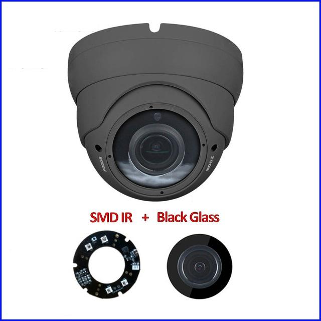 Film teinté black glass anti reflet pour caméra vidéosurveillance extérieure
