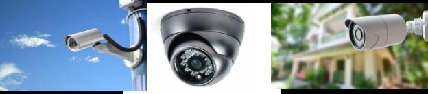différents modèles de camera videosurveillance